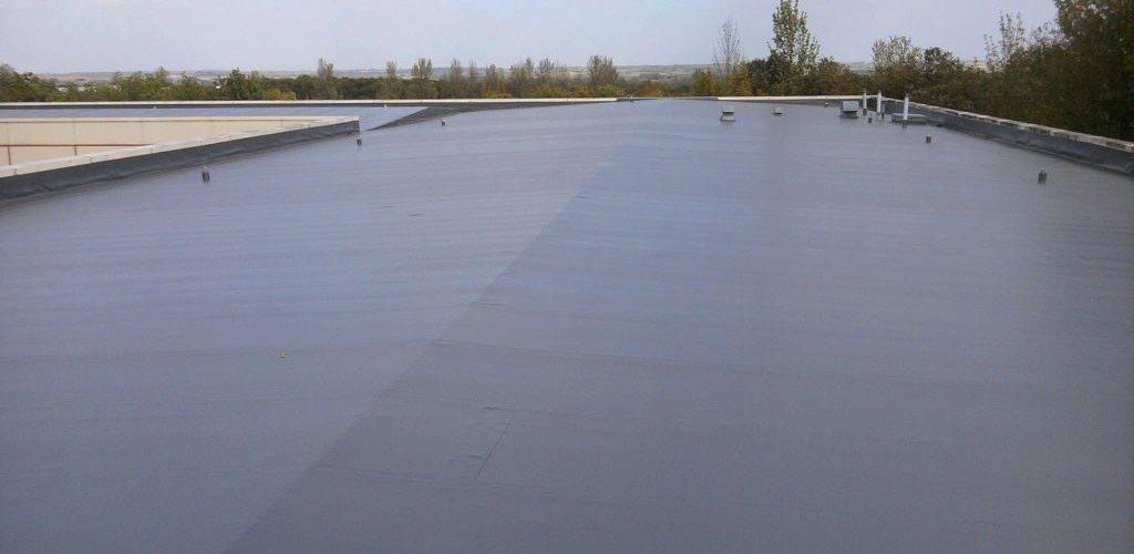 Flat Roof Repair Coating Replacement Service